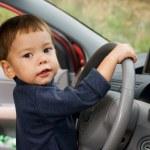 Little driver — Stock Photo