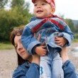Mother and son outdoor — Stock Photo #2250830
