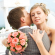 Bride and fiance - 