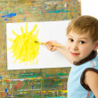 Little painter — Stock Photo #2605770