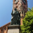 Stock Photo: Monument of Nicolaus Copernicus in Torun