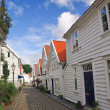 Royalty-Free Stock Photo: Old houses in Stavanger, Norway.