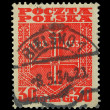 Royalty-Free Stock Photo: Vintage Poland post stamp