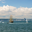 Royalty-Free Stock Photo: Tall ships taking race in Gdynia, Poland
