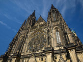 Saint Vitus's Cathedral — Stock Photo