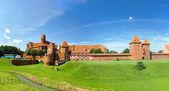 The castle Malbork — Stock Photo
