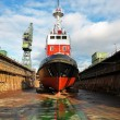 Stock Photo: Shipbuilding, ship repair