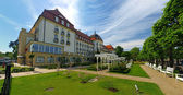 Grand Hotel in Sopot — Stock Photo