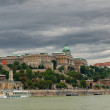The Castle in Budapest in Hungary — Stock Photo