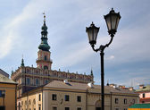 Town hall in Zamosc. — Stock Photo