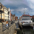 Riverside of Gdansk - Stock Photo