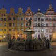 Stock Photo: Houses of old town in Gdansk, Poland
