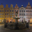 Houses of the old town in Gdansk, Poland - Stock Photo