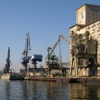 Stock Photo: port of gdansk