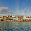 Wharf in Stavanger, Norway. — Stock Photo