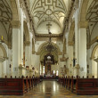 Stock Photo: Interior old Cathedral in Zamosc, Po