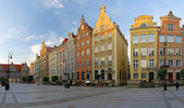 Long Market Square in Gdansk — Stock Photo