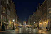 Long Street in Gdansk, Poland. — Stock Photo