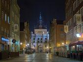 Golden gate en gdansk. — Foto de Stock