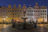 Houses of the old town in Gdansk, Poland — Stock Photo