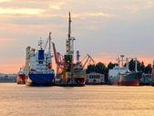 Port in Gdynia — Stock Photo