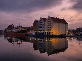 Granary Island In Gdansk, Poland — Stock Photo