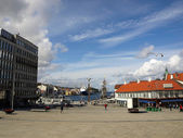Stavanger harbor — Stock Photo