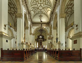 Interior the old Cathedral in Zamosc, Po — Stock Photo