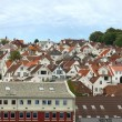 Stock Photo: Roofs of Stavanger.
