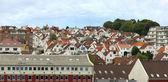Roofs of Stavanger. — Stock Photo