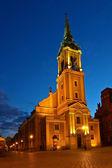 Church Holy Spirit in Torun — Stock Photo