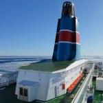 navio cruzeiro Escandinávia — Foto Stock
