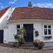 Old houses in Stavanger, Norway. — Stock Photo