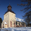 Church of Sts. Jacob in Oliwa — Foto de stock #2569762