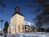 Church of Sts. Jacob in Oliwa — Stock Photo