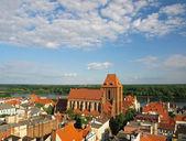 Panorama of Torun — Stock Photo
