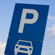 Royalty-Free Stock Photo: Parking sign