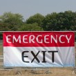 Emergency exit — Stock Photo #1767072