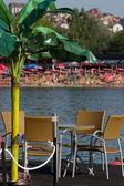 Café de la playa — Foto de Stock