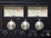 Old audio equipment — Stock Photo