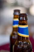 Botellas de cerveza — Foto de Stock