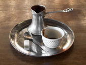 Turkish coffee set — Stock Photo