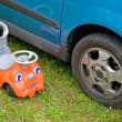 Big and small car — Stock Photo #1843686