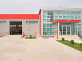 Factory building — Stock Photo