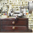 Old key duplicating machine — Stock Photo #1873505
