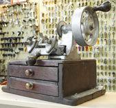 Old key duplicating machine — Stock Photo
