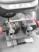 Key duplicating machine — Stock Photo