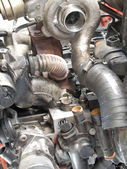 Turbo Engine — Stock Photo