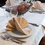 Restaurant table — Stock Photo #1935453