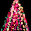 Christmas tree in blur — Stock Photo #1947331